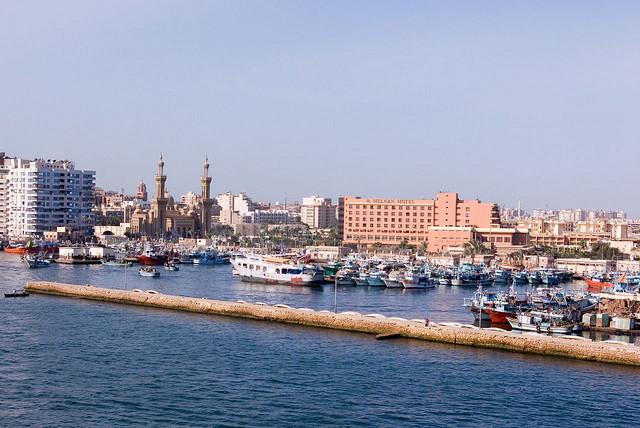 Návštěva Port Saidu