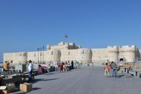 Alexandria - pevnost Qaitbay