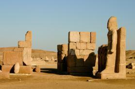 Pozůstatky staroegyptského města Tanis