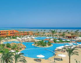 Egyptský hotel Amwaj Resort s bazénem