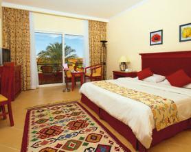 Egyptský hotel Amwaj Resort - ubytování