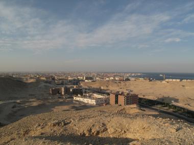 Letovisko Hurghada v Egyptě
