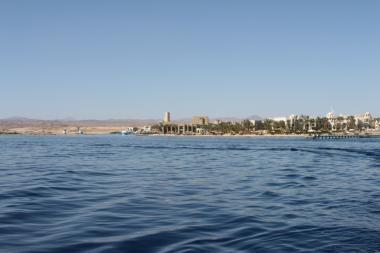 Egyptské město Port Ghalib