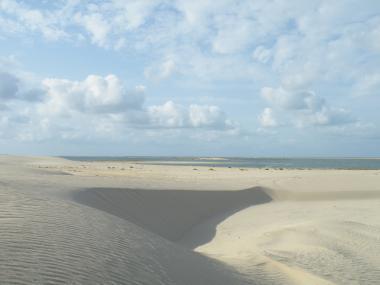 Část přírodní rezervace Zaranik